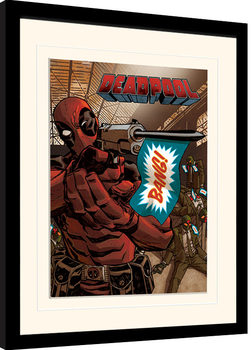 Deadpool - Bang Framed poster