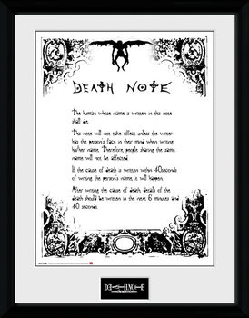 Death Note - Death Note plastic frame