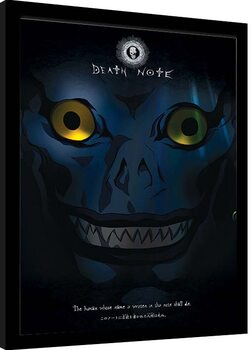 Framed poster Death Note - Ryuk Shadow