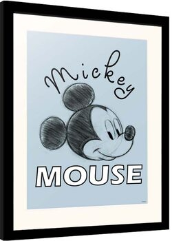 Framed poster Disney - Mickey Mouse