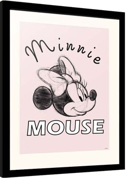 Framed poster Disney - Minnie Mouse