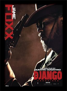 Django Unchained - Jamie Foxx plastic frame