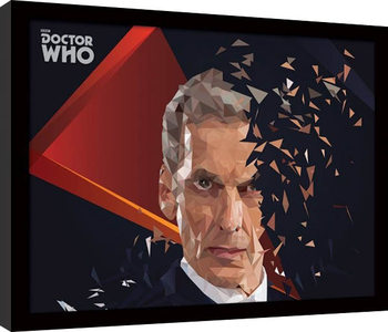 Doctor Who - 12th Doctor Geometric Framed poster