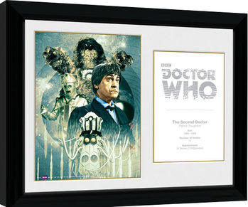 Doctor Who - 2nd Doctor Patrick Troughton Framed poster