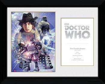 Doctor Who - 4th Doctor Tom Baker Framed poster