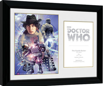 Doctor Who - 4th Doctor Tom Baker Framed poster