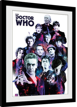 Framed poster Doctor Who - Cosmos