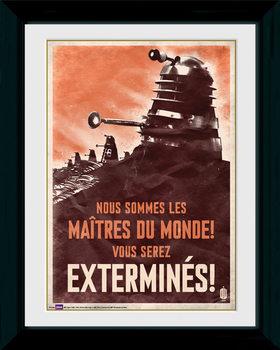 Doctor Who - Daleks plastic frame