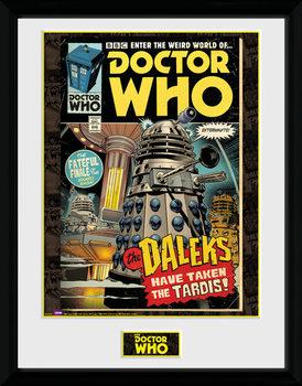 Doctor Who - Daleks Tardis Comic plastic frame