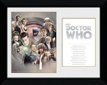 Doctor Who - Doctors Framed poster