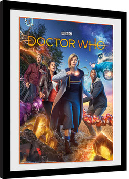 Doctor Who - Group Framed poster