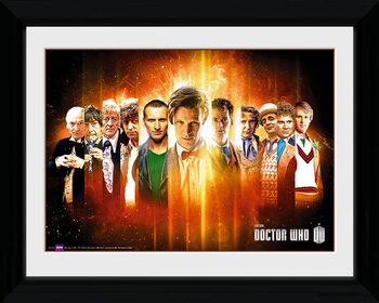 Doctor Who - Regenerate Framed poster