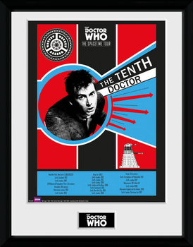 Doctor Who - Spacetime Tour 10th Doctor Framed poster