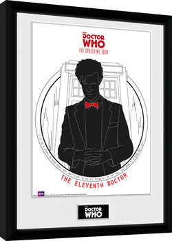 Doctor Who - Spacetime Tour 11th Doctor Framed poster