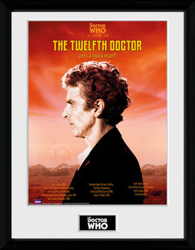 Doctor Who - Spacetime Tour 12th Doctor Framed poster
