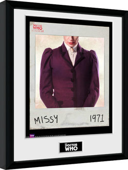Doctor Who - Spacetime Tour Missy Framed poster