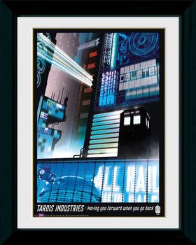 Doctor Who - Tardis Industries plastic frame