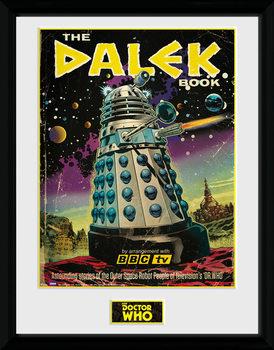 Doctor Who - The Dalek Book plastic frame