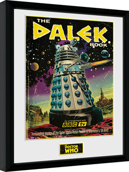 Framed poster Doctor Who - The Dalek Book