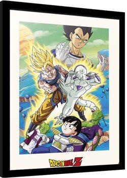 Framed poster Dragon Ball - Freezer Encounter