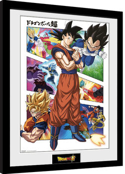Dragon Ball - Panels Framed poster