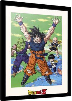 Framed poster Dragon Ball - Spirit Bomb