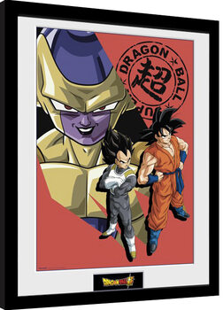 Framed poster Dragon Ball Super - Resurrection Group