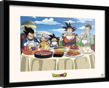 Framed poster Dragon Ball - Super Universe Feast