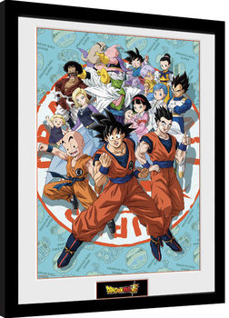 Framed poster Dragon Ball Super - Universe Group