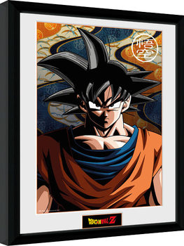 Framed poster Dragon Ball Z - Goku