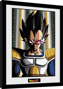 Dragon Ball Z - Vegeta Framed poster