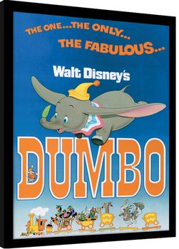 Dumbo - The Fabulous Framed poster