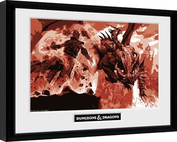 Dungeons & Dragons - Red Dragon Framed poster