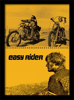 Easy Rider - Split Framed poster