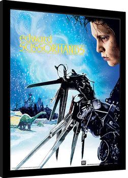 Edward Scissorhands - Snowfall Framed poster