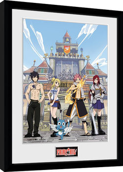 Fairy Tail - Season 1 Key Art Framed poster