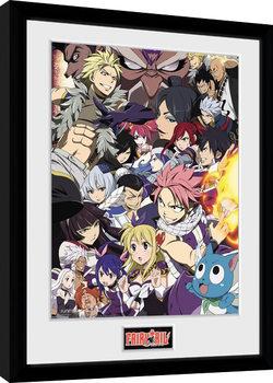 Fairy Tail - Season 6 Key Art Framed poster