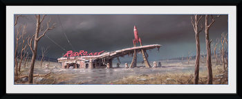 Fallout 4 - Red Rocket Framed poster