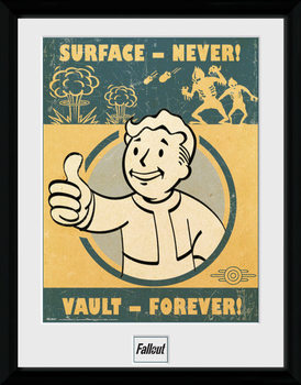 Fallout 4 - Vault Forever plastic frame