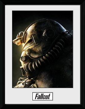 Fallout 76 - T51b Framed poster