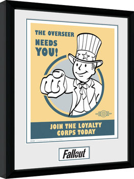 Fallout - Needs You Framed poster