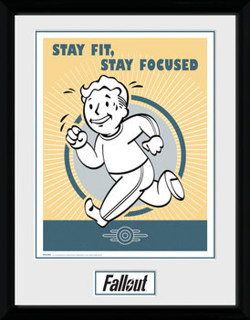 Fallout - Stay Fit plastic frame