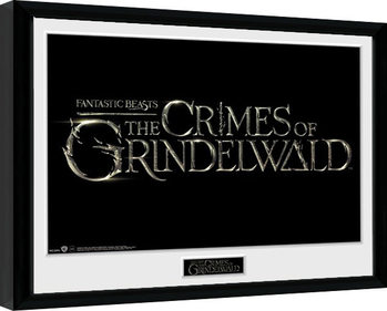 Framed poster Fantastic Beasts 2 - Logo