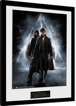 Framed poster Fantastic Beasts 2 - One Sheet