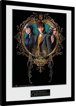 Fantastic Beasts 2 - Trio Framed poster