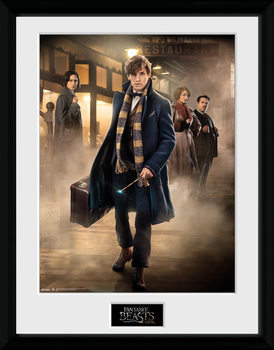 Fantastic Beasts And Where To Find Them - Group Stand plastic frame