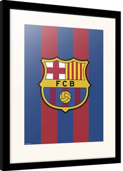 Framed poster FC Barcelona