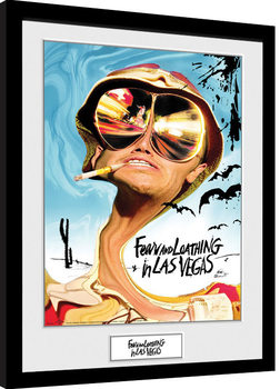 Framed poster Fear And Loathing In Las Vegas - Key Art