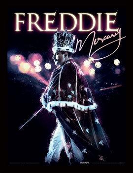 Freddie Mercury - Royal Portrait Framed poster