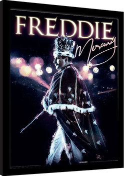 Freddie Mercury - Royal Portrait Framed poster